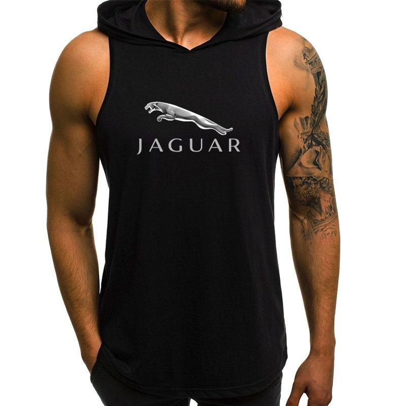 Новинка 2021 года, мужские толстовки с капюшоном и изображением Jaguar Car, мужские Модные свитшоты с коротким рукавом, распродажа, свитшот, Повсед...