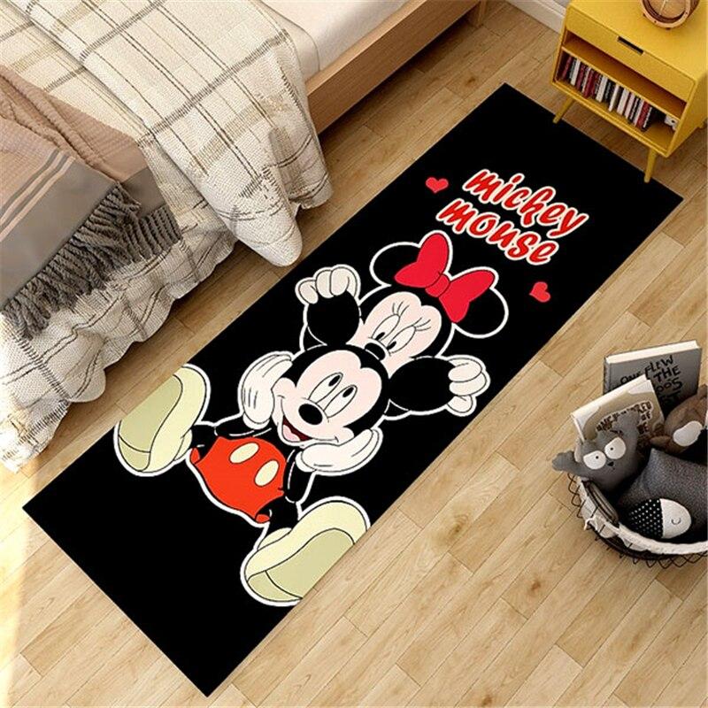 Cartoon Mickey Kids Playmat Floor Mat Non-slip  Door Mat Home Decoration Door Mat  Bedroom  Kids Rug Activity Mat door mat sweet heart shape cute home decor floor mat4