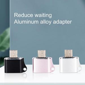 Charger Adapter Charging Data Transmission Mini Micro-USB to USB Female Converter for Mobile Phone