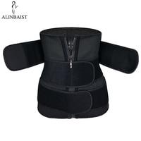 Slim Belt for Woman Corset Trimmer Cincher Body Shaper Belt Slimming Waist Trainer Bodi Shaper Shapewear 3 Strap Long Torso