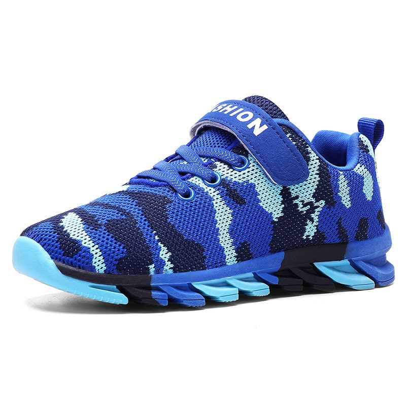 Children's Camouflage Sports and Leisure Running Breathable Mesh Shoes enlarge