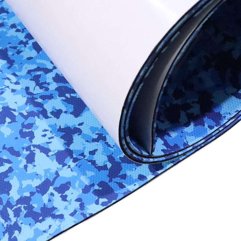 450*2400mm EVA Foam Faux Teak Boat Flooring Sheet No-slip Deck Floor Pads For Kayat Marine RV Ship SUP Paddle Ship Swimming Sea enlarge