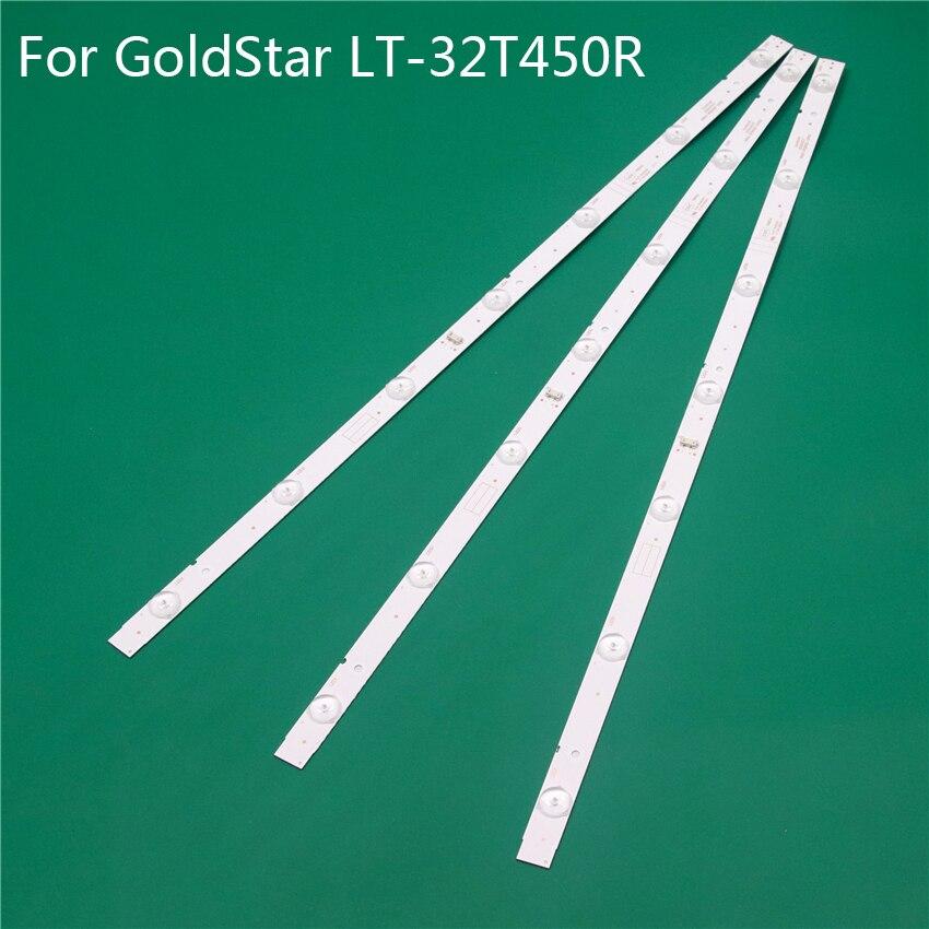 Iluminación LED de TV para GoldStar LT-32T450R barras LED V1R10 tiras de luz de fondo regla de Línea 5800-W32001-3P00 0P00 ver0000 RDL320HY