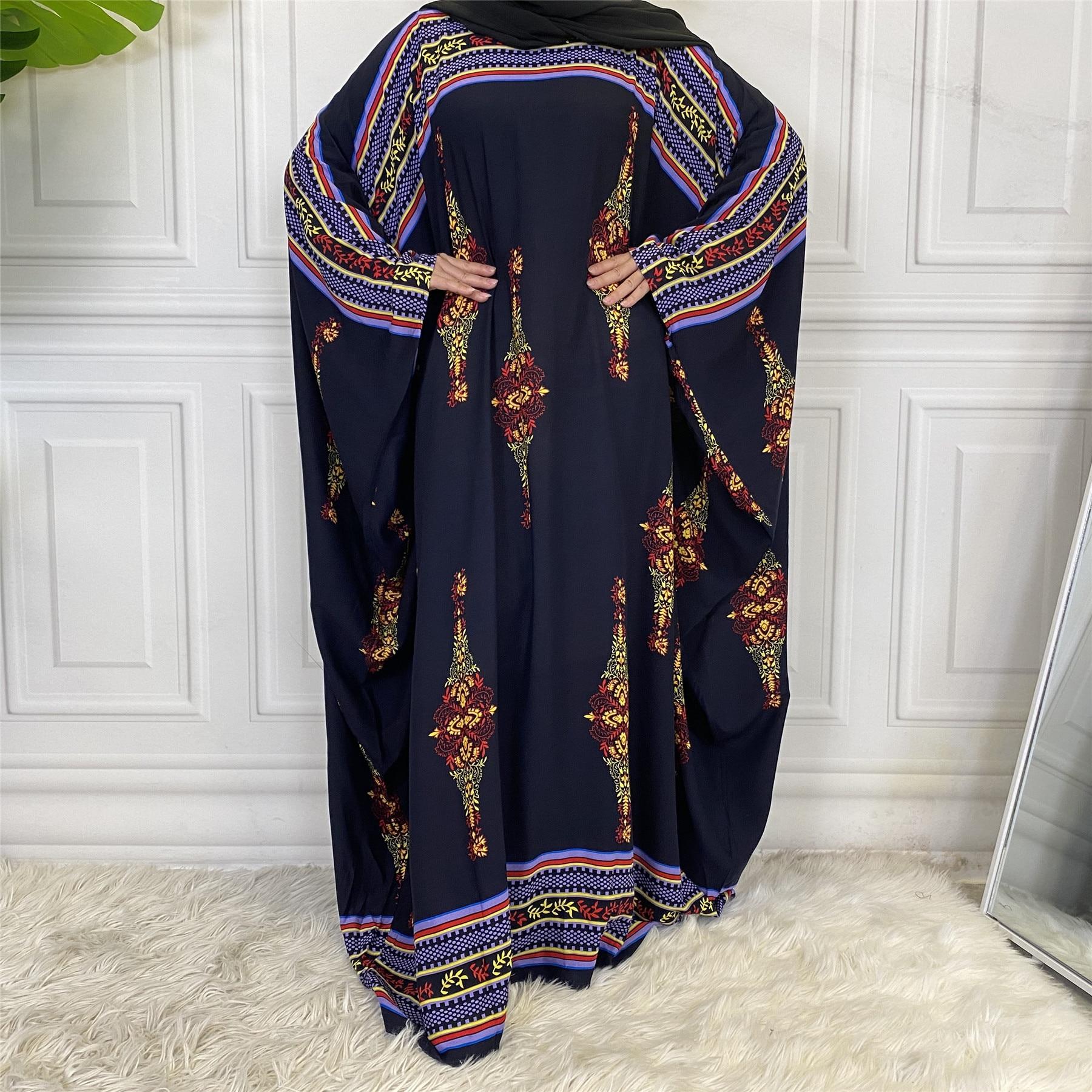 Arabic Abaya Kaftan Dubai Hijab Muslim Long Dress Turkish Dresses Islamic Clothing Abayas for Women Vestidos Largos Plus Size