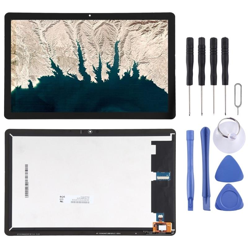 شاشة LCD و محول الأرقام الجمعية الكامل لينوفو Chromebook ديو (10.1 بوصة) CT-X363F CT-X636N CT-X636 (أسود)