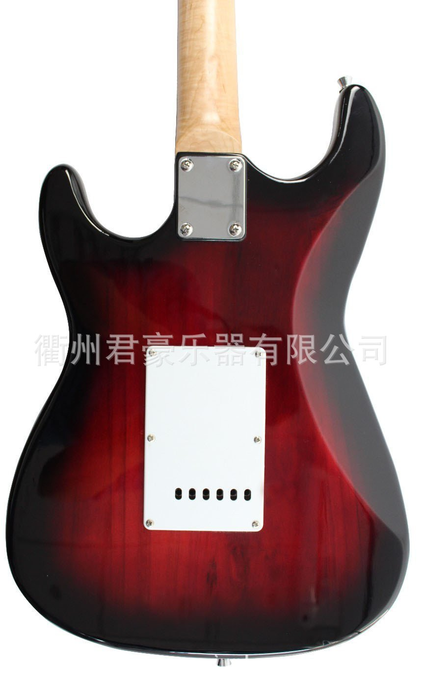 Red Gifts Electric Guitar Wood Bridge Body Solid Rosewood Electric Guitars High Quality Violao Acustico Instruments DL6DJT enlarge