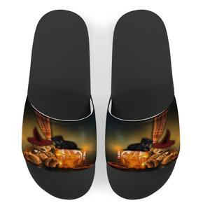 Summer 2020 new Halloween color flat bottomed lady's slippers casual sandals wholesale