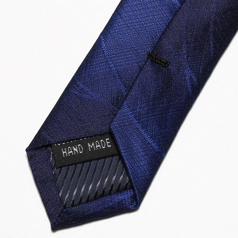 High Quality 2020 Designer New Fashion Dark Blue Gradient Pattern 8cm Ties for Men Necktie Business Formal Suit with Gift Box