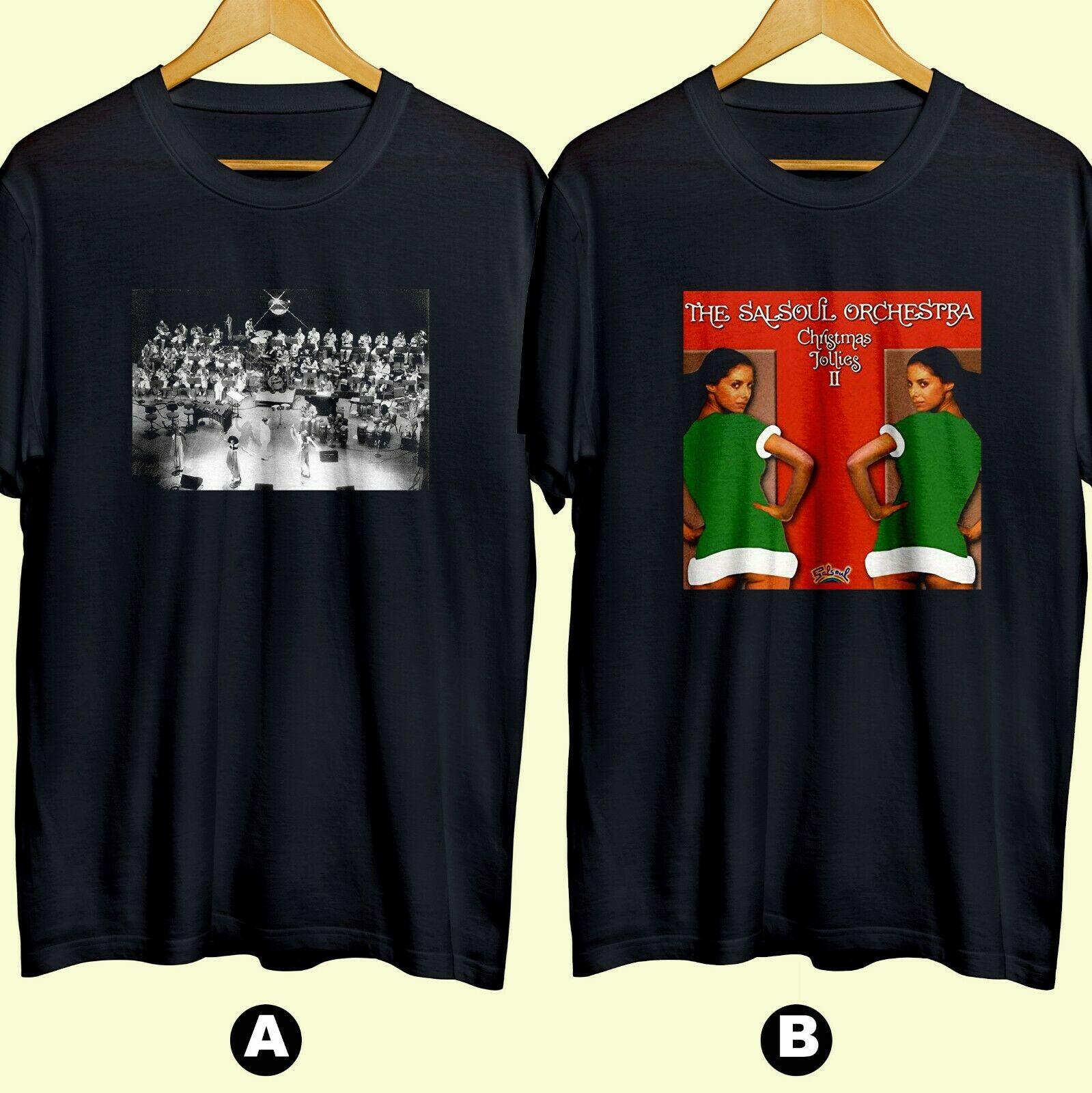 Salsoul Orchestra Soul Pop grupo de música camiseta algodón 100 nuevo