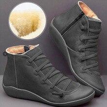 Nouveau hiver automne mode bottes femmes plate-forme chaussures plates souples en cuir PU dames bottes décontractées