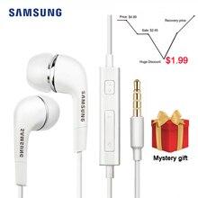 Auricular Samsung EHS64 con cable de 3,5mm en la oreja con micrófono controlador con cable compatible con Android para Xiaomi Huawei