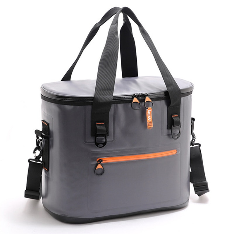 Insulation lunch bag, high quality outdoor large capacity portable picnic bag, waterproof ice bag, travel insulation bag