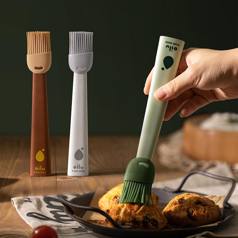Съемная силиконовая масляная щетка, высокотемпературная щетка для барбекю, кухонный инструмент для выпечки, кисть для яиц из пищевого мате...