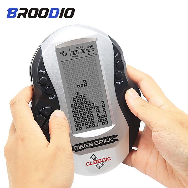 Mando de juegos electrónico Mini consola de juegos portátil Retro clásico Tetris mando de juegos integrado en 26 juegos clásicos