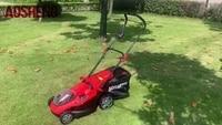aosheng 40v li ion battery power professional lithium ion cordless 400mm lawnmower garden tool lithium lawn mower