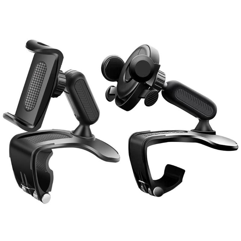 Soporte Universal de teléfono para coche del tablero de instrumentos del coche...