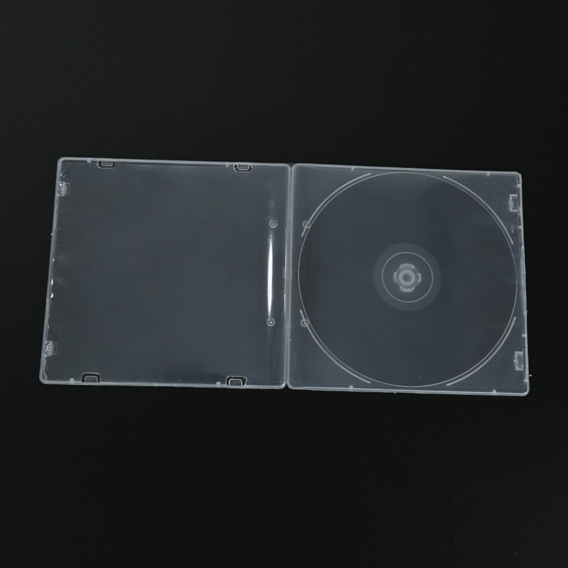 HEIßER Großhandel DVD R CDR DVDR Fall Fällen CD Fall Caja De Plástico Para CD Boîtier CD En Plastique CD-Hülle Aus Kunststoff