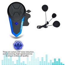 Fodsports BT-S3 Motorrad Helm Intercom Moto Helm Bluetooth Headset Wasserdichte Intercomunicador BT Sprech FM