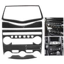 Консоли AC компакт дисков Панель крышка из углеродного волокна переключатель кондиционера декоративный Стикеры подходит для Nissan 370Z Z34 2009 2010 2011 2012 2020 Лепнина для интерьера      АлиЭкспресс
