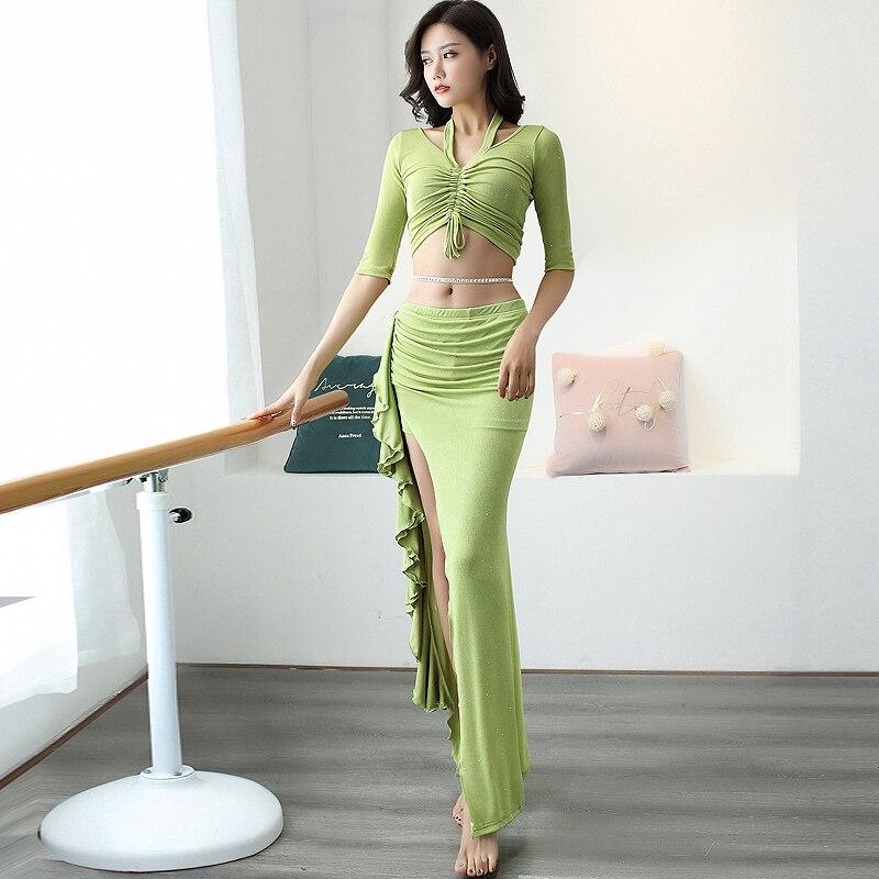 Женское платье для танца живота, профессиональная одежда для восточных танцев, одежда для выступлений и выступлений на сцене, DQL2511