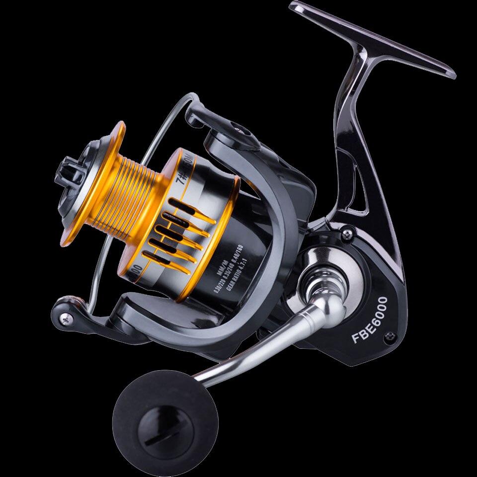 WALK FISH High Quality 17+1 BB Fishing Reel 5.0:1 4.7:1 Gear Ratio High Speed Spinning Reel Carp Fishing Reels For Saltwater