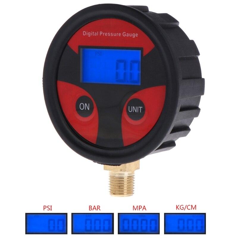 0-200PSI Digital Tyre Tire Air Pressure Gauge LCD Manometer for Car Truck Motorbike Tire Air Pressure Meter