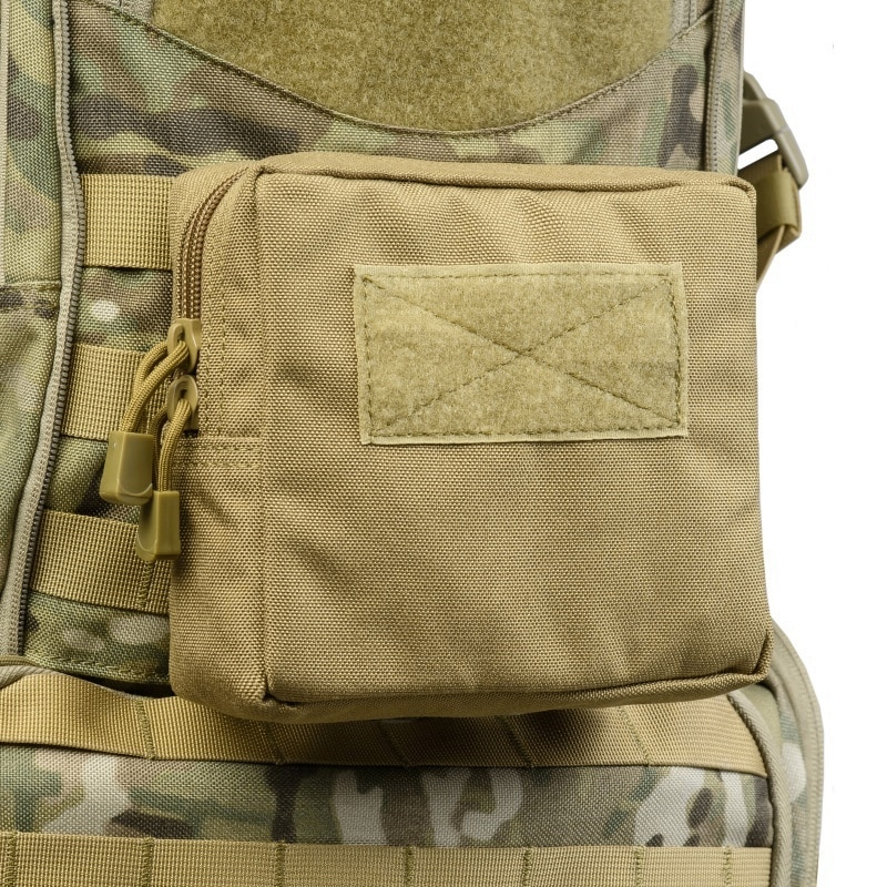Military Tactical Waist Belt Bag Molle Pouch Utility EDC Tool Bag Phone Case Small Pocket Outdoor Hunting Accessories Mag Pouch military molle admin pouch tactical multi medical kit bag utility tool belt edc pouch for camping hiking hunting 2018