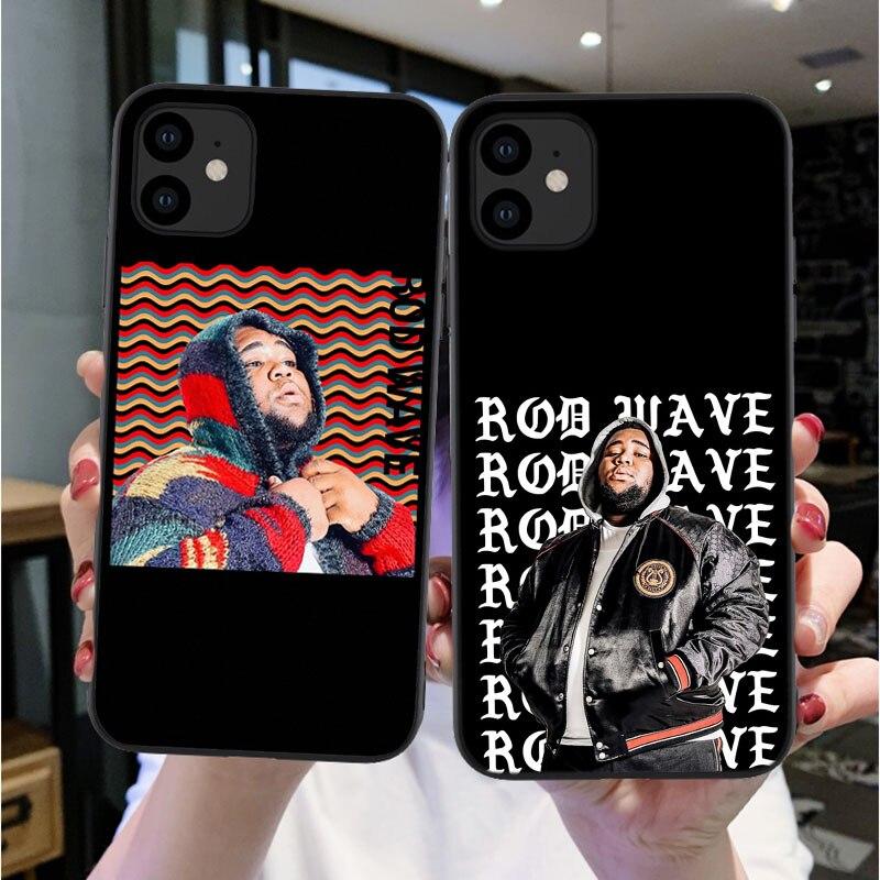 Caja del teléfono para Los iPhones 11 6s 6 7 8 Plus X XS XR XS Max Rod onda rap imprimir fundas de silicona blanda para iPhones 11Pro Max