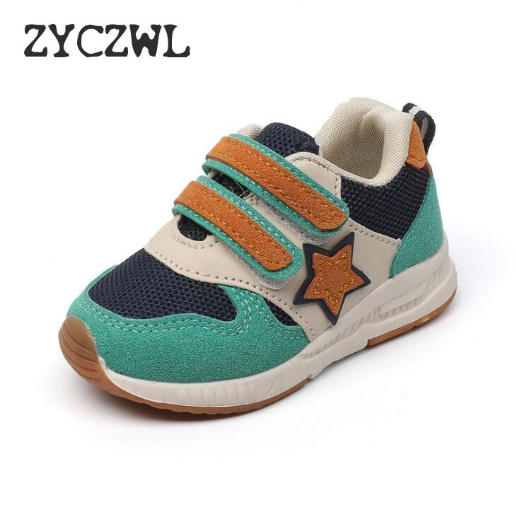Novo esporte crianças sapatos crianças meninos tênis primavera outono net malha respirável casual meninas sapatos de corrida para crianças
