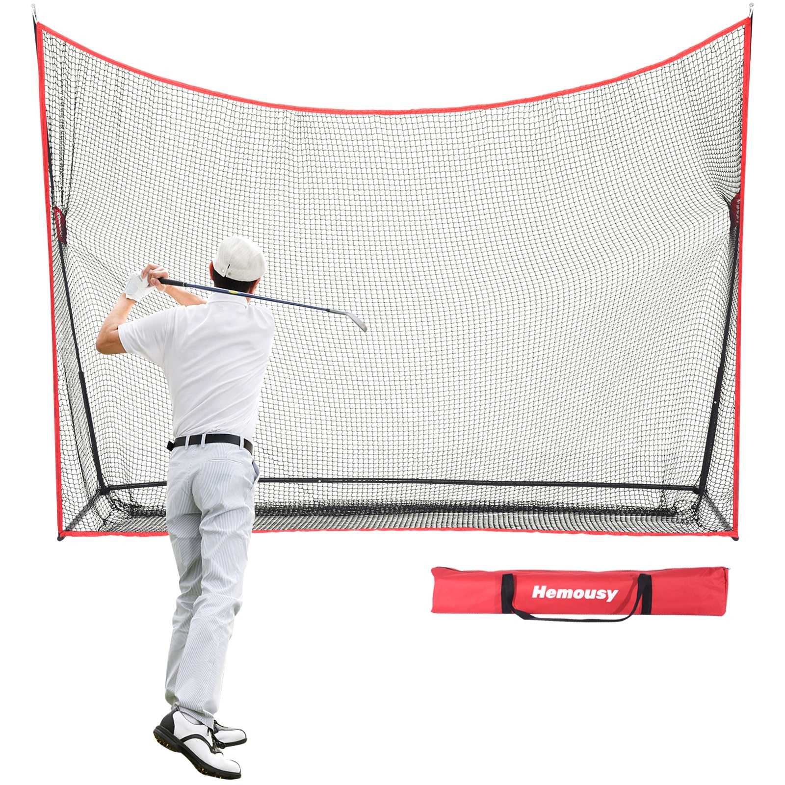 Golf Chipping Hitting Trainer Practice Net Portable Sui Intended Fold Superimposed Indoor And Outdoor Are Available