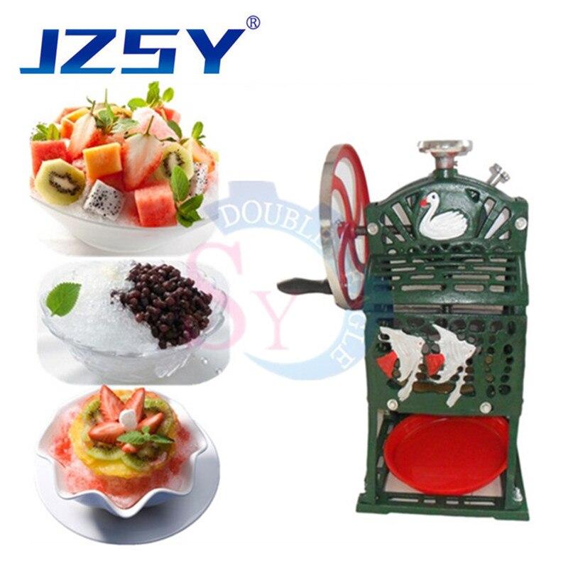 Precio al por mayor, máquina de granizados manual, picadora de hielo manual, licuadora de bebidas de hielo, máquina de hielo comercial, máquina de afeitar de bloques de uso doméstico
