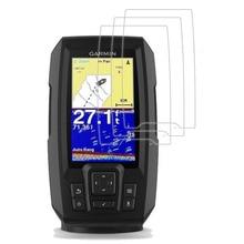 3 x PET Прозрачная защитная крышка для экрана Защитная пленка для Garmin Striker 4 4cv 4dv Plus 4 Fishfinder Портативный gps-трекер
