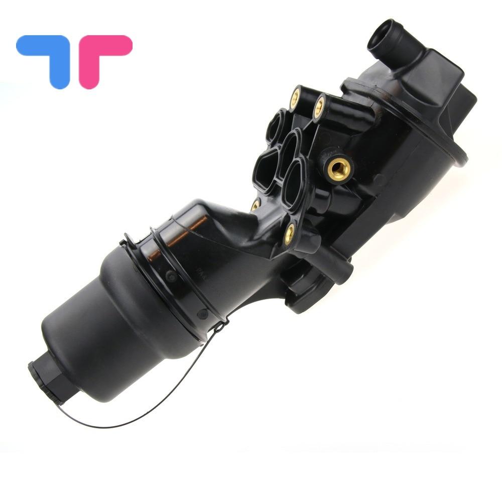 OEM Engine Oil Filter Housing Assembly For Audi A3 A4 TT VW Eos Golf GTI 2.0 06F115397H 06F115397E 06F115397F