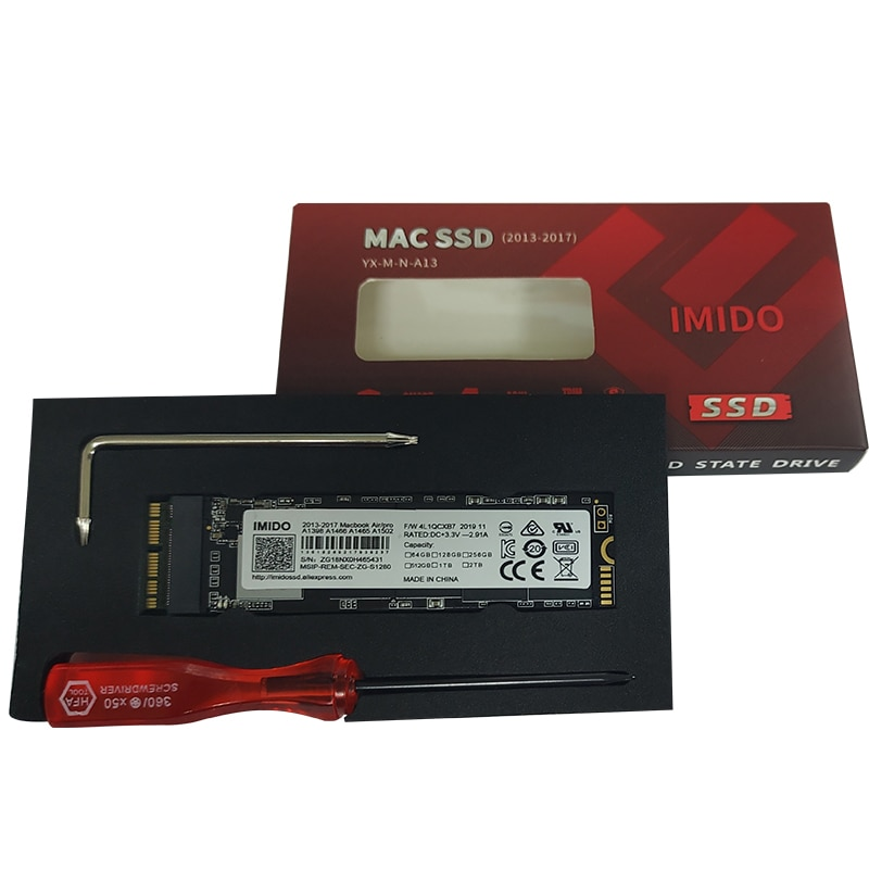 NEW 128GB 256G 512G 1TB SSD For 2013 2014 2015 Macbook Pro Retina A1502 A1398 Macbook Air A1465 A1466 SSD Solid State Disk enlarge