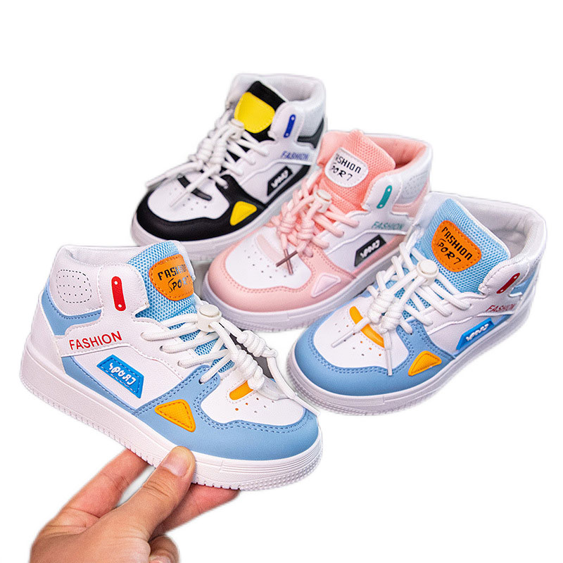 2021 Autumn Kids Sport Shoes For Boys Girls Sneakers Boy Breathable Casual Children Shoes Baby Boys
