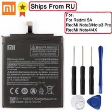 XaioMi Original Batterie BN34 BM46 BN41 BN43 für XiaoMi Redmi Hinweis 3 Pro RedMi Note3 RedMi Note4 RedMi Note4X 100% original