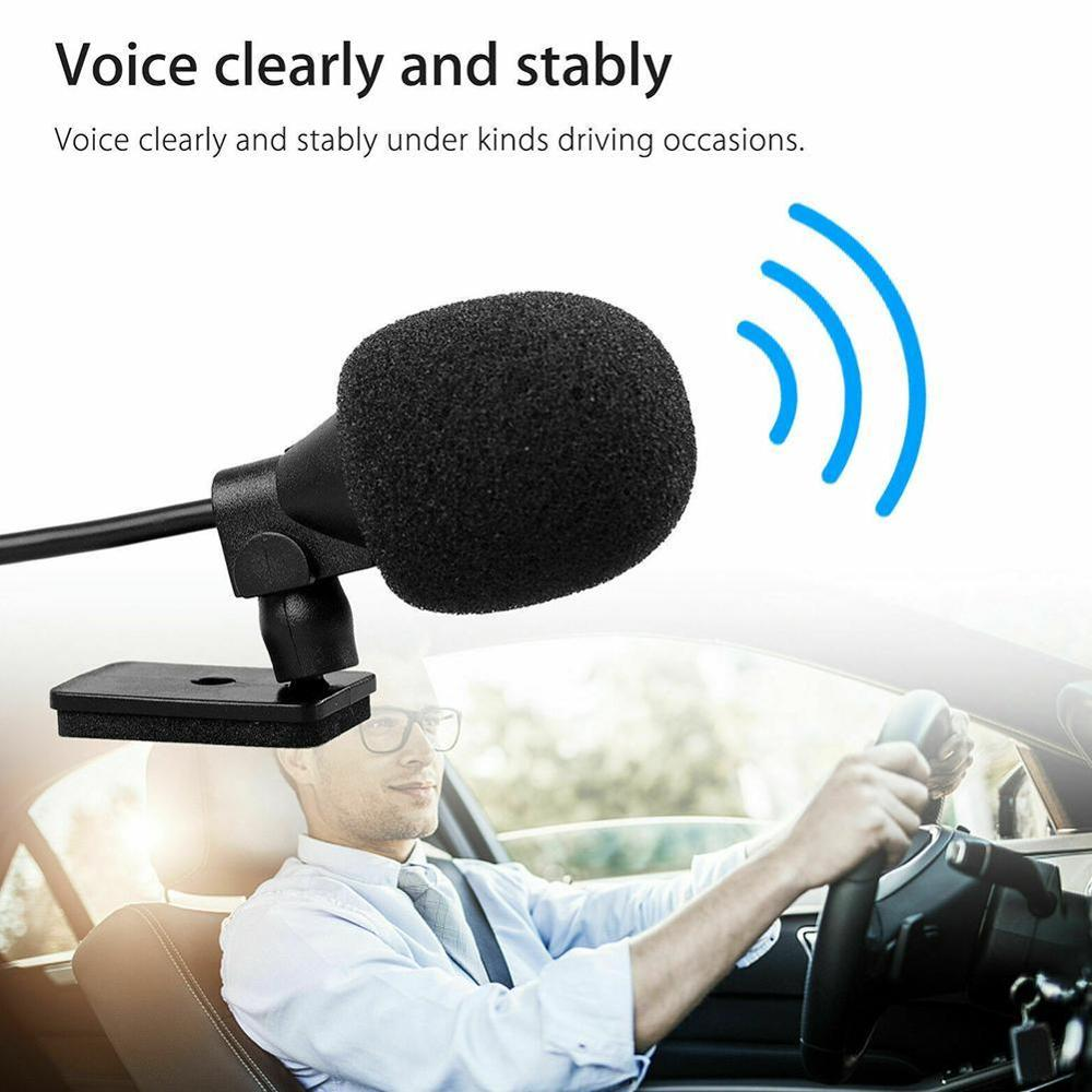 High Quality 3.5mm Bluetooth Vehicle External Mic Car Radio Stereo Microphone for GPS Player Enabled Audio DVD