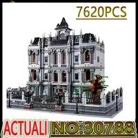 movie series toys k128 the moc 30788 arkham asylum house educational toys creative model building blocks diy christmas gift