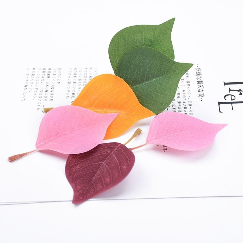 20 piezas hojas de eucalipto plantas artificiales Pared de flores material de fondo accesorios de disparo flores decorativas para boda