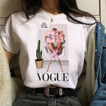 Women T Shirt Harajuku Fashion Summer Short Sleeve Vogue Tops Female T Shirt Girls O-Neck Tee Shirt Ladies T-Shirts Clothing