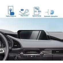 LFOTPP For M-azda 3 8.8 Inch 2019 2020 Car Navigation Tempered Glass Screen Protector Film Auto Interior Protective Sticker
