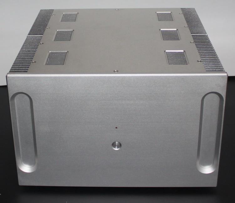 KYYSLB amplificateur châssis maison boîtier DYI boîte 410*400*250MM -WA33 luxe pur classe A amplificateur boîtier bricolage amplificateur châssis