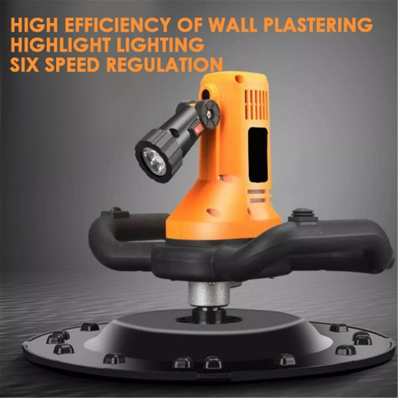 Adjustable Speed 80-200RPM 1700W Electric Trowel Wall Smoothing Machine Polishing Machine With Portable Concrete Drill Mixer