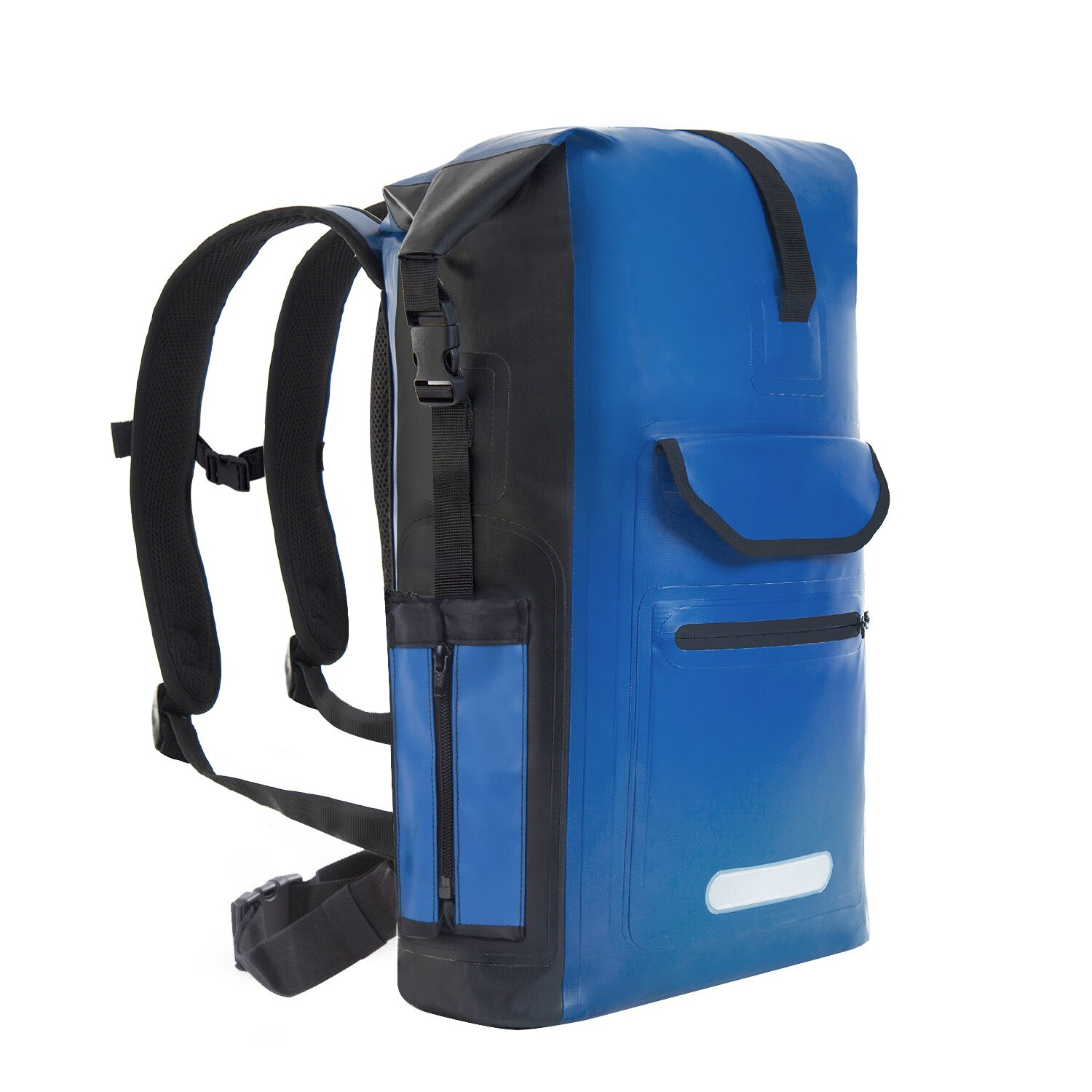 Hot-selling Seaside Products, Solid Color Outdoor Waterproof Bag, Hiking And Camping Backpack, Easy To Carry