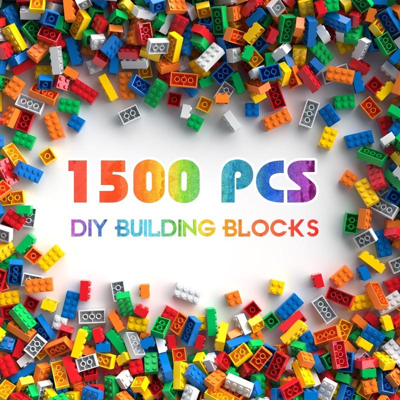 Building Blocks City DIY Creative Bricks Bulk Model   Kids Assemble Toys Compatible All Brand Small Size