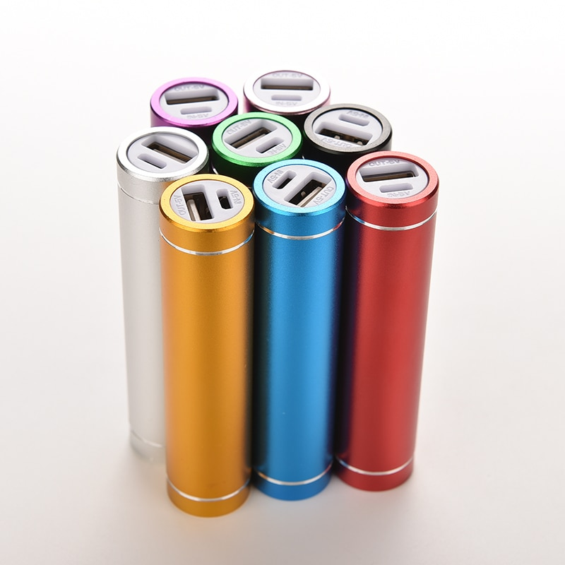 Portable Power Bank Box 18650 Li-ion Battery Charger Blank Shell For Cell Phone Tablet Electronics