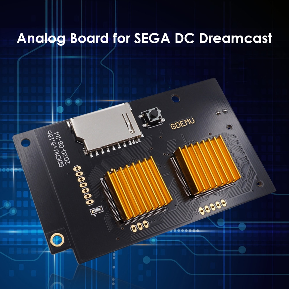 Optical Drive Simulation Board Replacement Module Fast Game Reading Speed V5.15B for SEGA Dreamcast