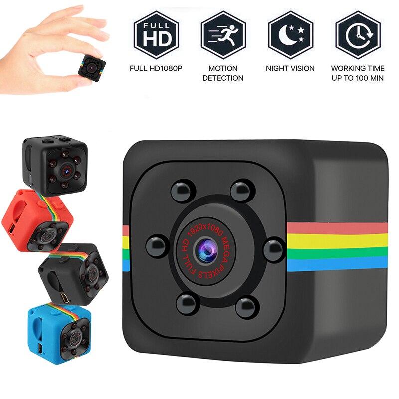SQ11 Ultra-Mini Camera HD 960P Small Cam Sensor Night Vision Camcorder Micro Video Camera DVR DV Motion Recorder Camcorder