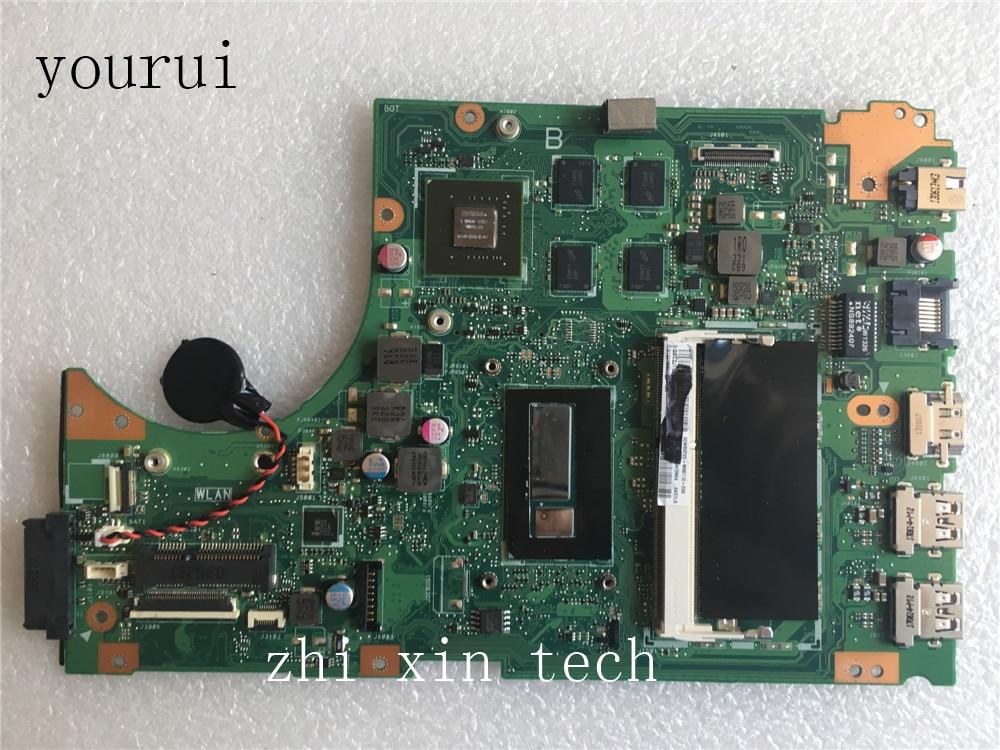 Yourui s451اللوحة i5-4200u GT740M ل ASUS S451 S451L laptopاللوحة DDR3 اختبار العمل الكمال