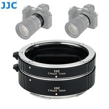 JJC 11 мм 16 мм комплект автоматических удлинителей для объектива для Nikon Z Mount Z5 Z7 Z6 Z50 кольцо адаптера объектива камеры с крышкой объектива